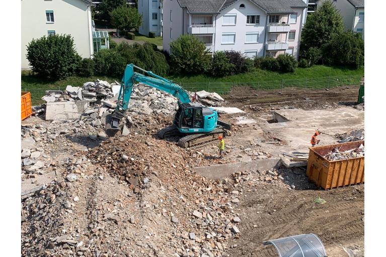 Rückbau Rapperswil - Jona