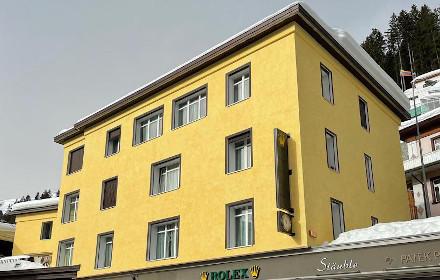 Rolex Gebäude Davos Platz